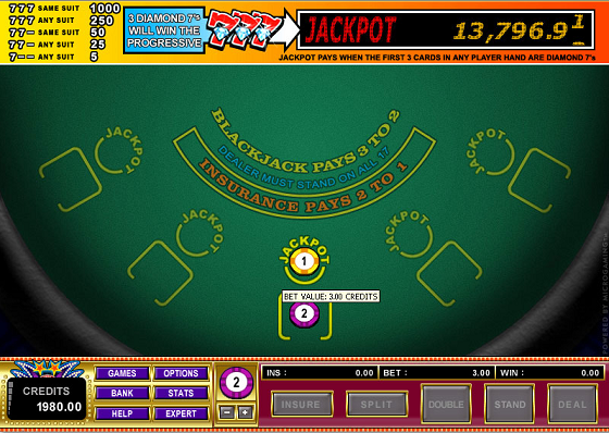 microgaming progressive jackpot games